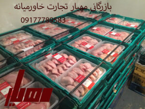 ترخیص گوشت مرغ